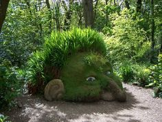 NCAA garden gnomes are an ultimate source of entertainment and fun as well. Place a group of big NCAA gnomes in your garden right now! Funny Garden Gnomes, Gnome Garden, Topiary Garden, Garden Whimsy, Garden Art, Lost Gardens Of Heligan, Tableaux Vivants, Dream Garden, Beautiful Gardens