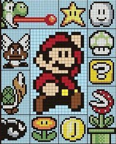 Crochet A Long: August 2016 Mario CAL
