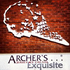 Archer's Ice Cream Shop Sign in Heswall    A unique and creative sign!