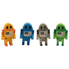Eraserbot Erasers - Set Of 4 - now only $2.40!  #YouKnowYouWantIt #allgiftythings #karmakiss #UnusualGifts #UniqueGifts