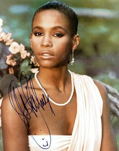 Late. Great. Whitney Houston #RIP  we lost a great voice and person