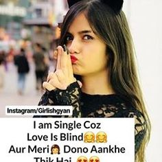 Exam Quotes Funny, Funny Attitude Quotes, Attitude Quotes For Girls, Cute Funny Quotes, Cute Love Quotes, Sad Girl Quotes, Cute Quotes For Girls, Desi Quotes, Girly Quotes