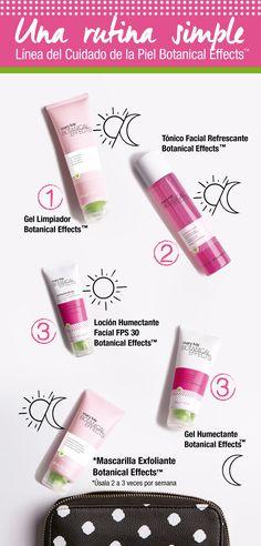 ¡Una rutina de belleza sencilla y saludable para tu piel! Nueva Línea para el Cuidado de La Piel Botanical Effects™. www.marykay.com.co #CuidadoDeLaPiel #HábitosSaludables #Bienestar #pedido #online #botanico www.marykay.es/ylenia