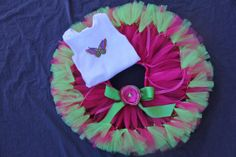 Chic Butterfly Baby Tutus Toddler Tutus by PirouetteBoutique, $52.95