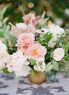Photography: Jose Villa Photography - josevillaphoto.com Floral Design: Flowerwild - flowerwild.com   Read More on SMP: http://www.stylemepretty.com/2016/01/12/spring-al-fresco-wedding-in-rancho-santa-fe/