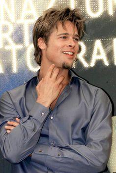 Image detail for -Brad Pitt Brad Pitt Haircut, Bratt Pitt, Pretty Blue Eyes, Attractive Men, Jennifer Aniston, Actors & Actresses, Beautiful Men, Hot Guys, Handsome