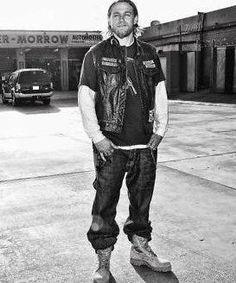 Charlie Hunnam (Jax Teller) Boot Campaign | Photo Credits: FX