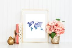 The World Is Your Oyster Print by Lovelittlejdesigns on Etsy