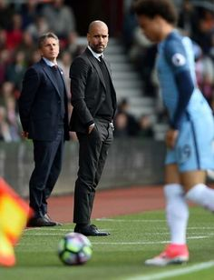 Formal Chic, Classic Suit, Pep Guardiola, Manchester City, Handsome, Inspirational, Hair