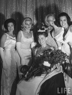 Miss America 1965, Vonda Van Dyke and court