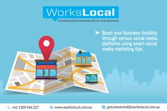 Workslocal is one of the best local area marketing agency in Australia. Social Media Marketing Tips is about having a powerful strategy and plans that enable you to connect your local business with customers. They help to increase your business growth with fast speed using latest social media marketing tips and Facebook marketing. They are expert in providing all local area marketing services at affordable rates. For further inquiry, you can call at +61 1300 946 227 and visit our website.
