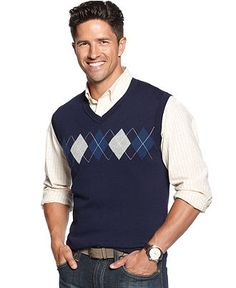 Club Room Sweater, Argyle Sweater Vest | Wish list | Pinterest ...