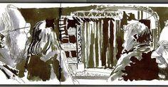 Urban Sketchers Portugal: Á espera da Gisela João
