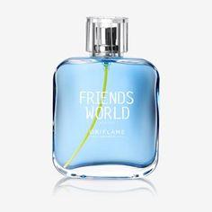 Friends World For Him Eau de Toilette Men's Perfume – Fragrance Perfume Oils, Perfume Bottles, Perfume Fragrance, Pamper Days, Oriflame Cosmetics, Perfume Collection, Smell Good, Sorbet, Friends
