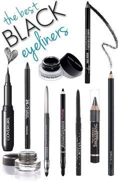 Long lasting, easy applying, best black eyeliners