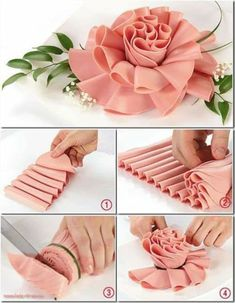 Meat Trays, Meat Platter, Food Trays, Food Design, Party Food Platters, Creative Food Art, Vegetable Carving, Food Carving, Food Garnishes