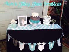 Little Man Baby Shower Party Ideas Photo 5 of 34 Catch My Party Baby Shower Decorations For Boys, Baby Shower Centerpieces, Baby Shower Themes, Shower Ideas, Lil Man Baby Shower, Fotos Baby Shower, Shower Party, Baby Shower Parties, Baby Showers