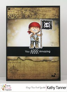 Stamping Still, Party Like a Pirate, #MFT Stamps, MFT