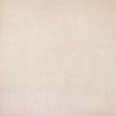 """Agnes Martin, """"Leaf,"""" acrylic and graphite on canvas, 72x72 in. (Modern Art Museum of Fort Worth)"""