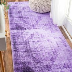 Found it at AllModern - Gaines Purple Area Rug