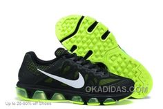 http://www.okadidas.com/nike-men-air-max-tailwind-black-green-running-shoes-discount.html NIKE MEN AIR MAX TAILWIND BLACK GREEN RUNNING SHOES DISCOUNT Only $71.00 , Free Shipping!