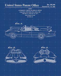 Inked and Screened Automobiles Et Al 'Ferrari S.A Enzo by A. Baccino Silk Screen Print Graphic Art in Blue Grid/White Ink Porsche 911, Graphic Prints, Art Prints, Blue Prints, Graphic Art, Mclaren For Sale, Batman Batmobile, Batman 1966, Superman