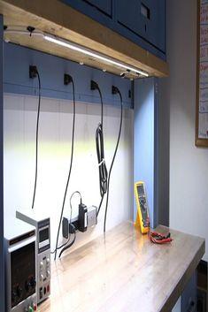 25 Best Garage Workbench Lighting