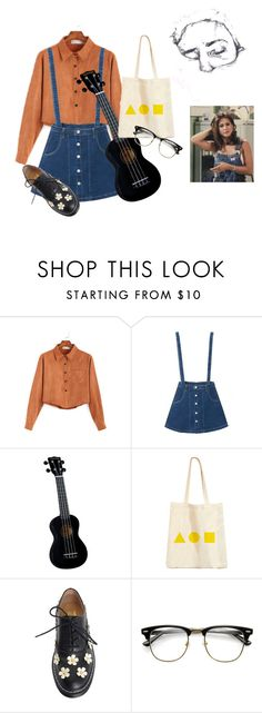 """Adult diversion"" by radteenn ❤ liked on Polyvore featuring WithChic, Makelike, Episode, outfit, indie, grunge, 90s and 80s"