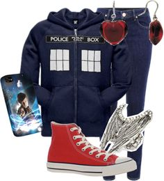 """""""Doctor Who Fan"""" by amyrappa ❤ liked on Polyvore"""