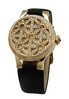 Carrera y Carrera Palacios del Sur Watch in yellow gold with diamonds