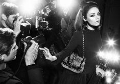 Mila Kunis as a Retro 50s Star for Dior Handbags Campaign