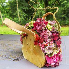 Floral bag on Autumn Fair