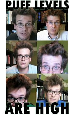 (Thought about pinning this to my Beautiful People board, 'cause there ain't nothing I love more than a John Green Puff)