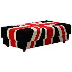 Zuo Union Jack Ottoman -  I love a union Jack