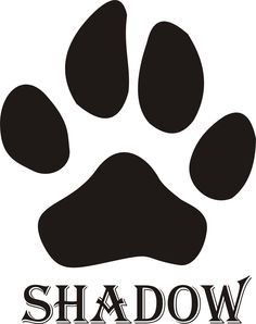 Dog paw with your pals name