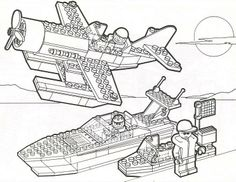 heat lego coloring page Lego Coloring Pages
