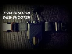 Evaporation Web-Shooter - YouTube Airsoft Grenade, Book Week, Dbz, Animals Beautiful, Nerdy, Spiderman, Geek Stuff, Geeks, Marvel