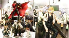 Seventh Heven of Midday by きよら - Final Fantasy - Yuffie/Denzel/Vincent/Loz/Reno/Marlene/Rude/Tifa/Kadaj/Yazoo