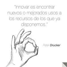 #innovar #peterdrucker #frases