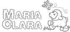 Fofurinhas da Vivi - Nome Maria Clara