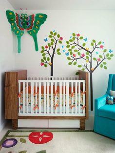 idée de décoration de chambre bébé fille