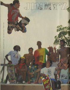 Jimmy'z Clothing Christian Hosoi 1988