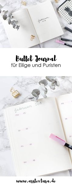 Bullet Journal for Minimalists – Bullet Journal Inspiration and Ideas with Layo … - DIY Projects