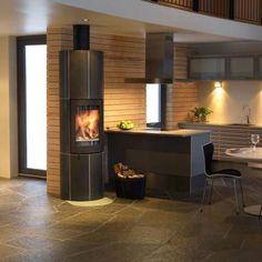 wood burning fireplaces - Google Search