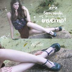 Sapato Annie. Sapato Retrô