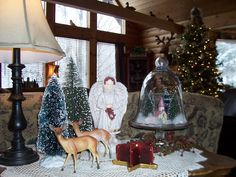 Two Cottages And Tea: A Log Home Christmas