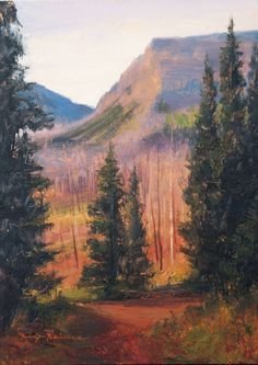 SOLD-On Dix Baines' trip to Trappers Lake in Colorado, he was initially rather dismayed to find that the area had been burned by a very large forest fire several years ago. Upon closer inspection, he found the area to be alive with new growth and beauty.