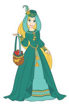 Rapunzel Disney Princess Fashion, Disney Princess Art, Disney Rapunzel, Disney Princess Dresses, Disney Dolls, Disney Dresses, Disney Outfits, Disney Style, Disney Love