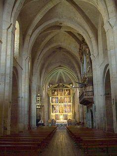 Iglesia del Monasterio de Santa María la Real, Fitero. Navarra.