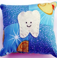 tooth fairy pillow...cute idea, but could be even cuter!